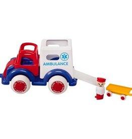"Viking Toys Super Chubbies 10"" Ambulance"