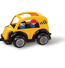 "Viking Toys Super Chubbies 10"" Taxi"