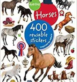 Workman Publishing Co Eyelike Stickers Horse