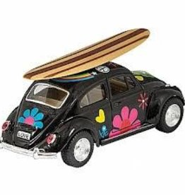 Schylling Die Cast VW Bug with Surf Board