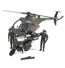 Elite Force Elite Force Army Strike MH-6 Spec Ops Littlebird Helicopter