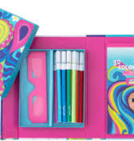 Schylling Rainbow Dream 3-D Coloring Set