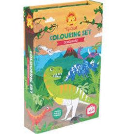 Schylling Dinosaur Coloring Set