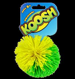 Schylling Koosh Ball Green and Yellow Split