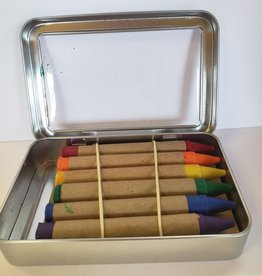 Childhood Store Soy and Beeswax crayons in a tin