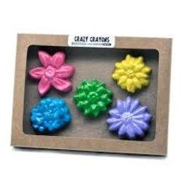 Crazy Crayons Flower Crayons