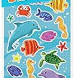 Peaceable Kingdom Shiny Foil Sea Life Stickers