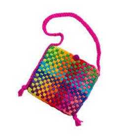 Harrisville Designs rainbow potholder purse kit