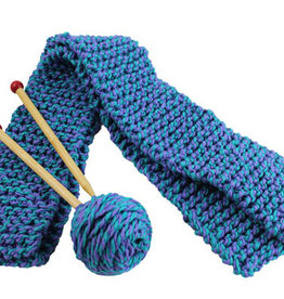 Harrisville Designs quick-to-knit scard kit
