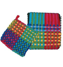 Harrisville Designs traditional potholder loom with loops