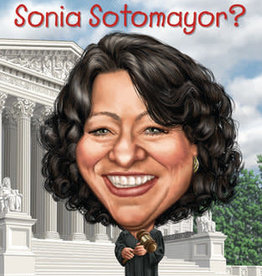 Penguin Who is Sonia Sotomayor? by Megan Stine