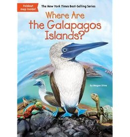 Penguin Where are the Galapagos Islands by Megan Stine