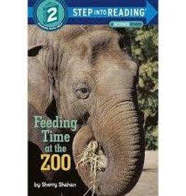 Random House Feeding Time at the Zoo by Sherry Shahan