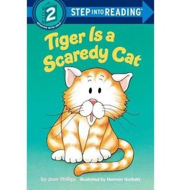 Random House Tiger is a scaredy cat
