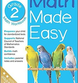 DK Children 2nd grade math workbook math made easy