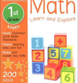 DK Children 1st grade math learn and explore