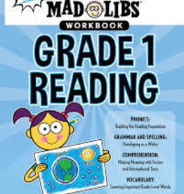 Penguin Mad libs workbook grade 1 reading
