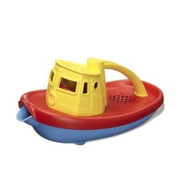 Green Toys Tugboat: Red and Yellow