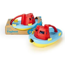 Green Toys Tugboat: Red and Blue