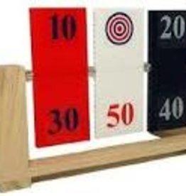 Magnum target red, white, blue