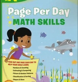 RH Childrens Books KINDER PAGE PER DAY MATH SKILL