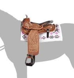Reeves International Western Saddle