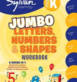 RH Childrens Books PREK LETTERS NUMBERS & SHAPES (SUPR WKBK)