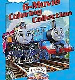 Random House Thomas & Friends: 6-Movie Coloring Collection