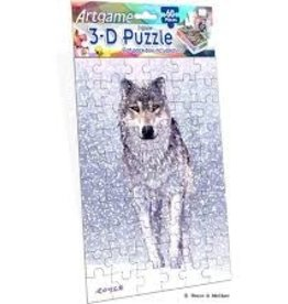 ArtGame3D snow fall wolf 60 pc
