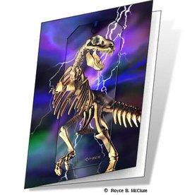 ArtGame3D T-Rex 3D gift card set