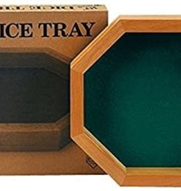 Koplow Games 10-inch Wood Dice Tray