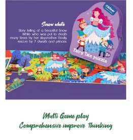Mideer Fiary Tale Puzzle: Snow White 36 Piece