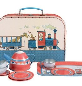 Egmont Toys Tin Tea Set Train