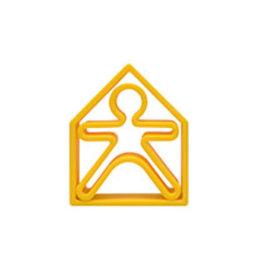Dena Yellow House Teether