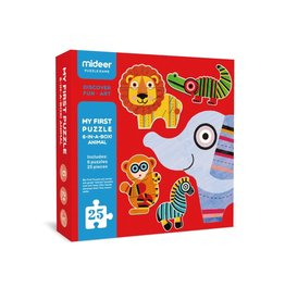 Mideer My First Puzzle Animals 25 Pieces