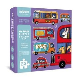 Mideer My First Puzzle: Cars