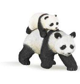 Papo Panda with cub
