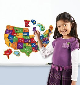 Learning Resources U.S Map Puzzle 44 pc