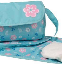 Adora Dolls Diaper Bag Flower Print