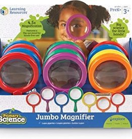 Learning Resources Jumbo Magnifying Glass