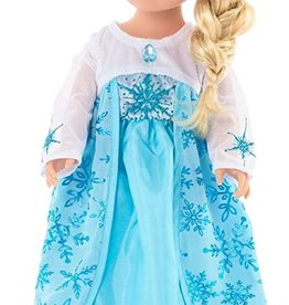 Little Adventures Ice Princess Doll Dress