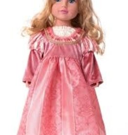 Little Adventures Coral Renaissance doll dress