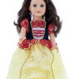 Little Adventures Snow white doll dress