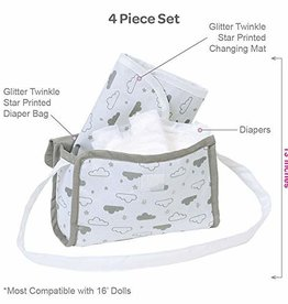 Adora Dolls Twinkle Stars Diaper Bag