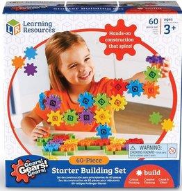 Learning Resources Gears! Gears! Gears! 60-Piece Starter Building Set