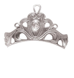 Little Adventures Diva Crown Silver