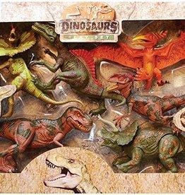 TEDCO Extinct world dinosaurs play set