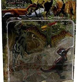 TEDCO Mini dinosaur set w/pterodactyl