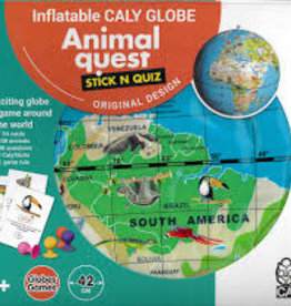 TEDCO Inflatable Caly Globe Animal Quest