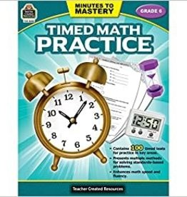 Teacher Created Resources Timed Math Practice Grade 6